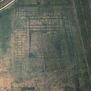 Grundrisse der Stabsgebäude des Lagers Vetera castra I bei Xanten. Hier waren wohl zwei der drei Legionen stationiert, die im Jahr 9 n. Chr. in der bekannten Schlacht im Teutoburger Wald vernichtet wurden.