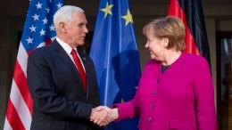 Schlagabtausch zwischen Deutschland und Amerika