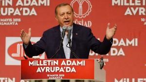 Erdogan sieht Auslandstürken als Macht außerhalb des Landes