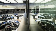 Deutsche Börse: Die Schwankungen der Aktienkurse sind ein Spiegelbild der Unsicherheit.