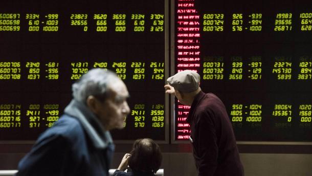 China stoppt Börsenhandel abermals
