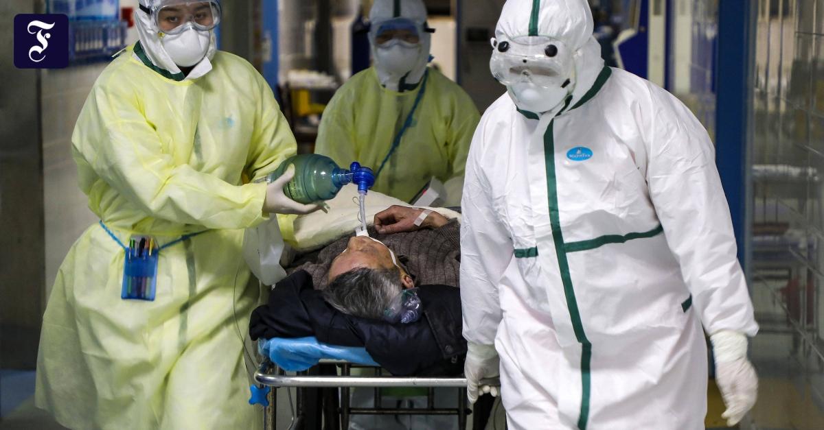 Coronavirus: Erstmals mehr Tote als durch Sars