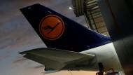 Ein Großteil der Lufthansa-Maschinen bleibt in diesen Tagen am Boden.