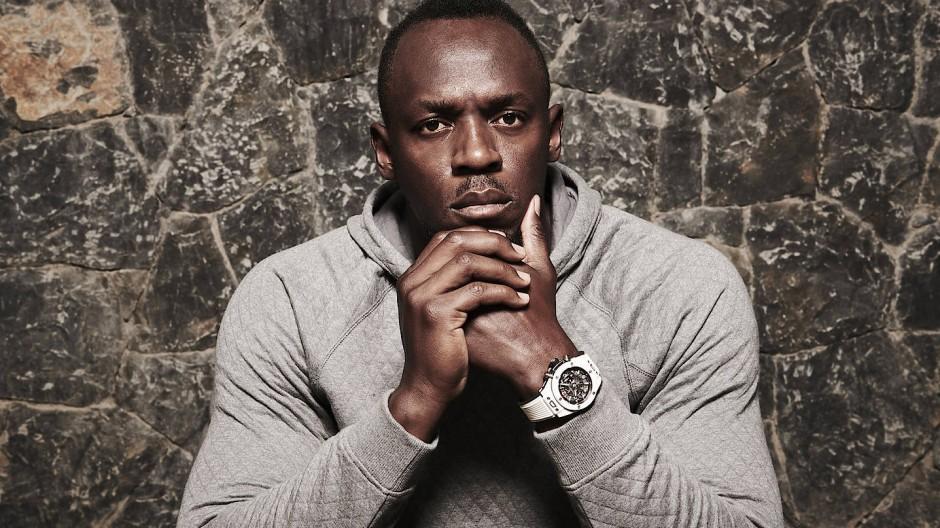 Der 34 Jahre alte Jamaikaner Usain Bolt