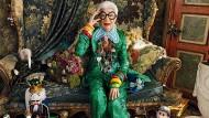 Ein Look ist nicht genug: Iris Apfel wohnt so eklektisch, wie sie sich kleidet.