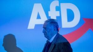 """Gauland sieht AfD im """"Abwehrkampf"""" gegen Verfassungsschutz"""