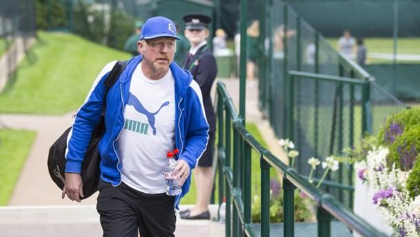 Boris Becker in London für bankrott erklärt