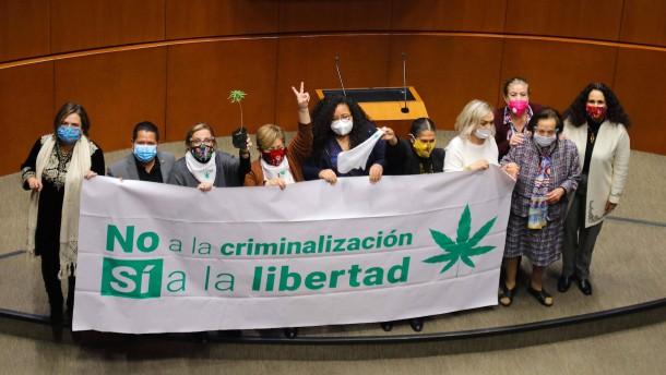 Mexikos Senat stimmt für Legalisierung von Marihuana
