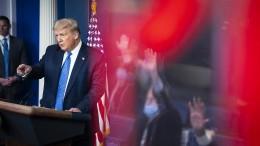 Trump macht Proteste für Neuinfektionen verantwortlich