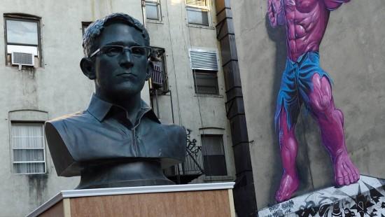 Edward Snowden als Star in Manhattan