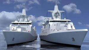 Milliardenauftrag für deutsches Kriegsschiff vergeben