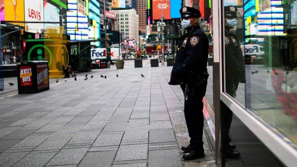 New York stemmt sich gegen die Corona-Pandemie
