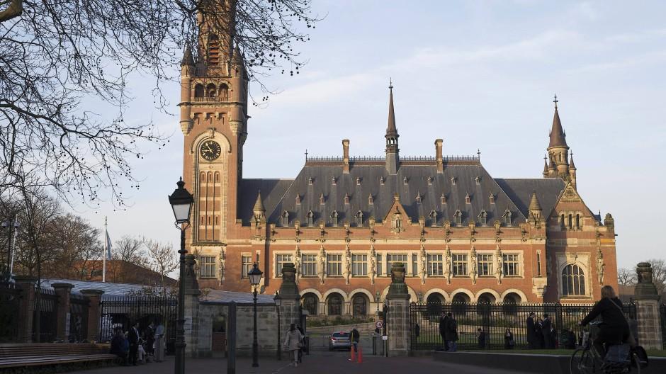 Das Friedenspalast genannte Sitz des Internationalen Gerichtshofs in Den Haag