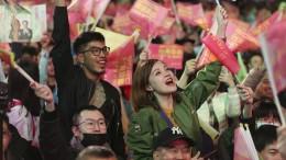 Taiwaner bieten Peking die Stirn