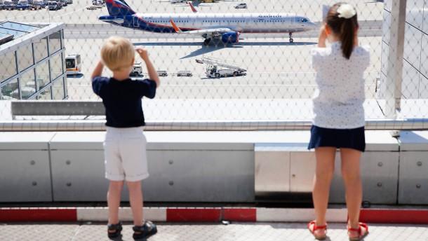 Geht mein Flug nach irgendwo?
