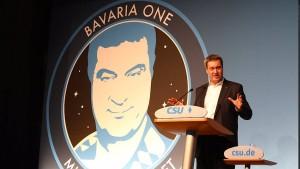 Söder will mit Bavaria One ins Weltall