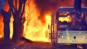 Anschlag erschüttert Ankara – 28 Tote