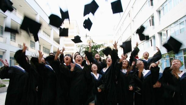 """Chinas Studenten müssen sich """"politischer Überprüfung"""" unterziehen"""