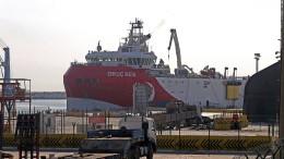 Bleibt der osmanische Korsar im Hafen?
