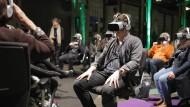 Das bewegte Bild hat viele Formen: Virtual Reality bei einer früheren Ausgabe des Lichter Filmfests