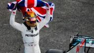 Hamilton rast wieder zum Titel