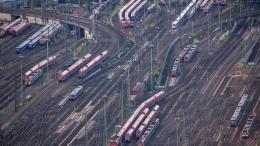 Bahn-Tarifverhandlungen in neue Runde gestartet