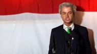 Wilders enttäuscht über Ergebnis seiner Partei bei der Europawahl