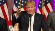 Bekommt Gegenwind auf Facebook: Donald Trump