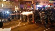 Seit zwei Monaten demonstrieren in Hongkong Tausende gegen die chinatreue Regierung.