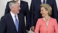 Von der Leyen unterstützt Trumps Ruf nach Aufrüstung