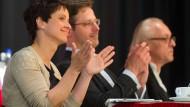 Partner und politische Verbündete: AfD-Chefin Frauke Petry und Landeschef Marcus Pretzell