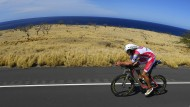 Jan Frodeno beim Ironman in Kailua-Kona, Hawaii.
