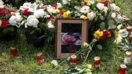 Gedenken an Irina A.: Die 29 Jahre alte Frau war im Mai getötet worden. Ein Verdächtiger sitzt in Haft.