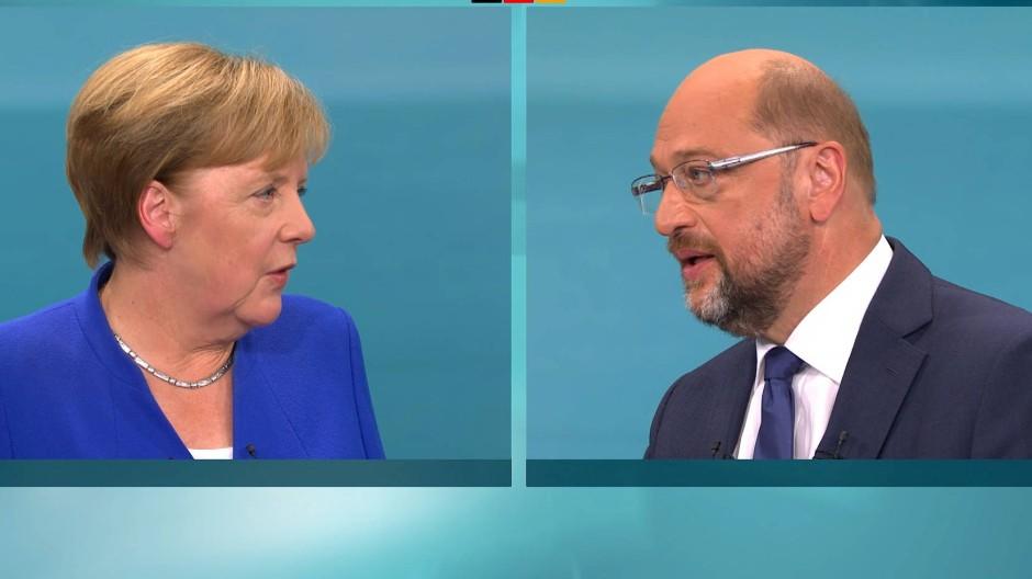 TV-Duell-Umfrage: CDU verliert, SPD gewinnt nicht