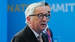 Warum Juncker beim Nato-Gipfel wankte