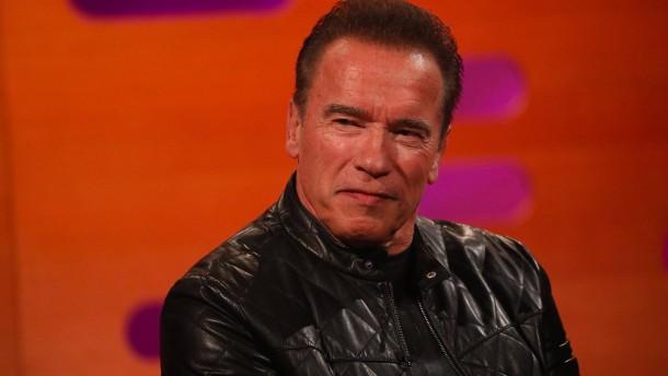 Arnold Schwarzenegger wird persönlich