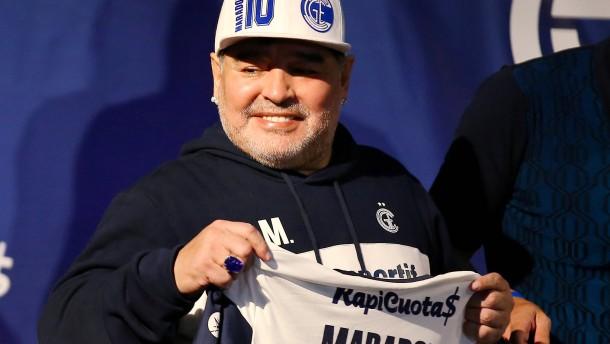 Maradona leidet unter Entzugserscheinungen