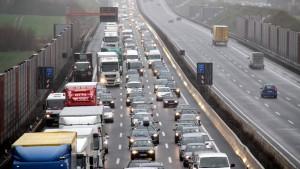Verkehr auf Autobahn A7 normalisiert sich