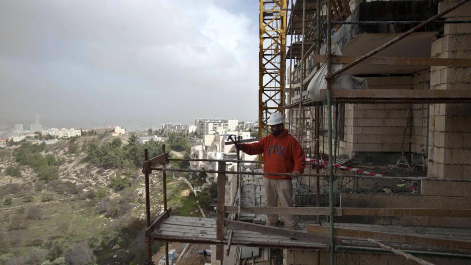 Siedlungsbau: Gilo in Ostjerusalem vor wenigen Tagen