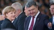 Poroschenko fordert Boykott der Fußball-WM in Russland