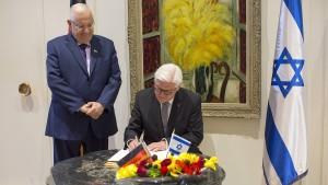 Steinmeier kritisiert israelische Reaktion auf Gabriel