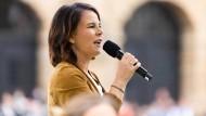 Co-Vorsitzende und Kanzlerkandidatin der Grünen Annalena Baerbock