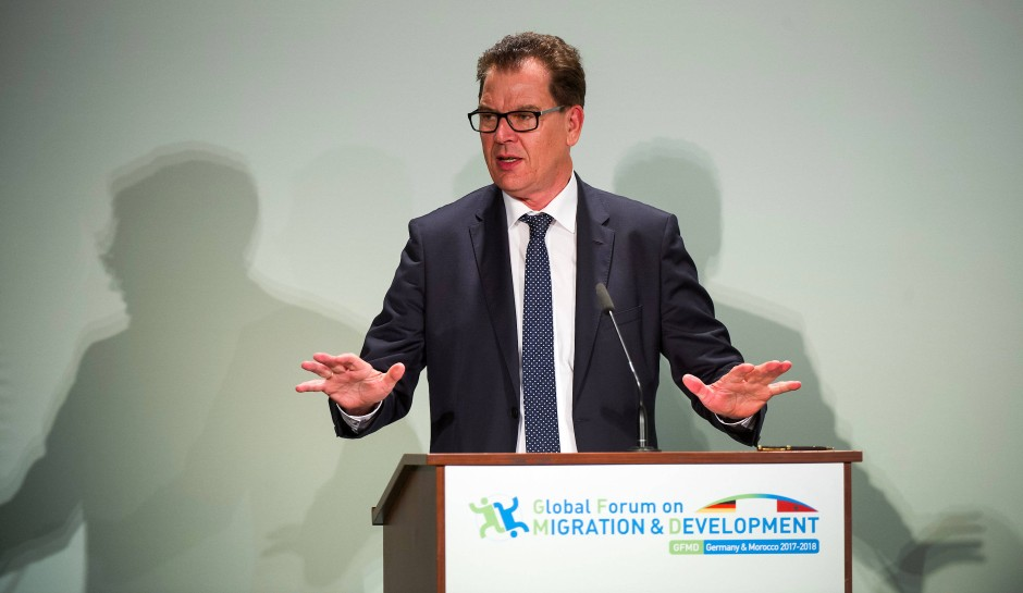 Der CSU-Politiker Gerd Müller ist seit 2013 Bundesminister für wirtschaftliche Zusammenarbeit und Entwicklung.