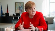 Angela Merkel im F.A.S.-Interview