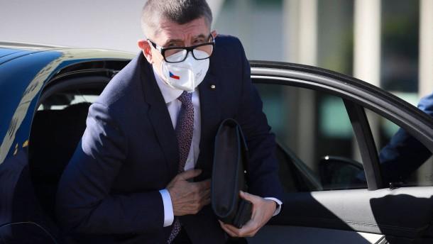 Polizei empfiehlt Anklage gegen Babiš