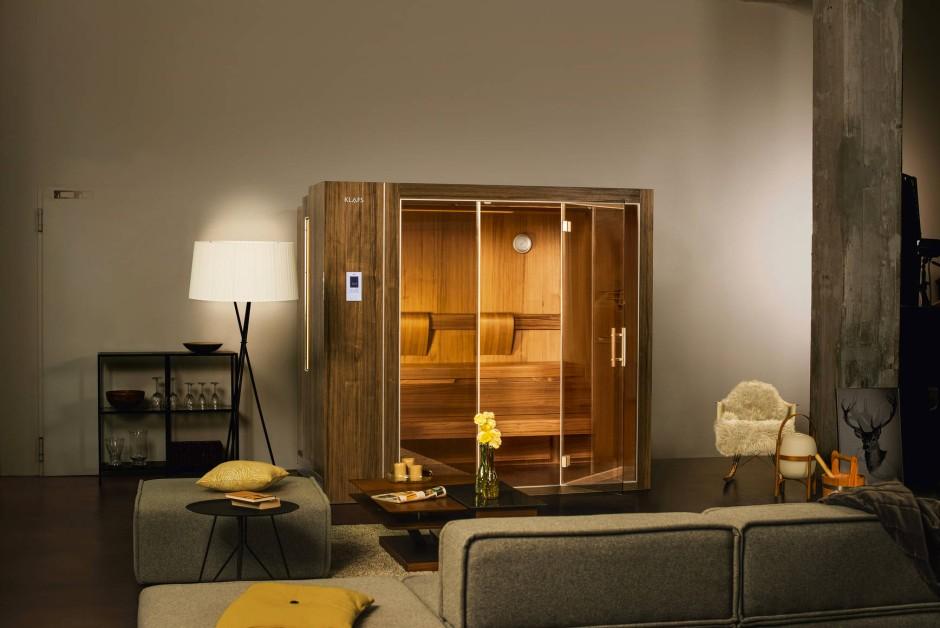 bilderstrecke zu ausfahrbar sauna f r das wohnzimmer bild 1 von 2 faz. Black Bedroom Furniture Sets. Home Design Ideas