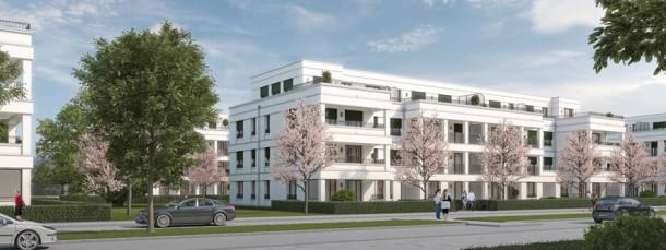 Urbane Ergänzung: Geplante Mietwohnungen in Adlershof am Südrand von Berlin.