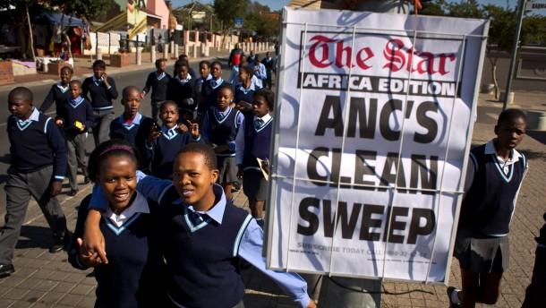 ANC gewinnt Wahlen deutlich