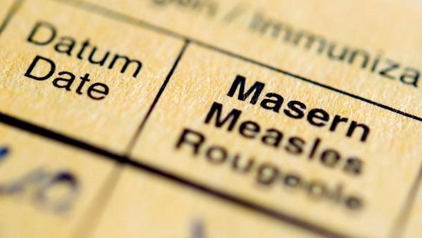Kabinett beschließt Impfpflicht gegen Masern