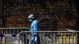 Hongkong verhängt ersten Lockdown